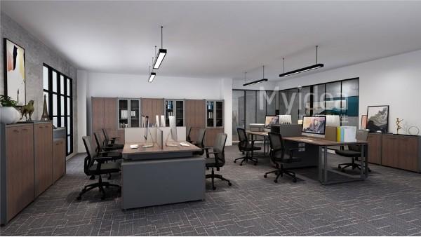 工程配套办公家具办公桌椅文件柜