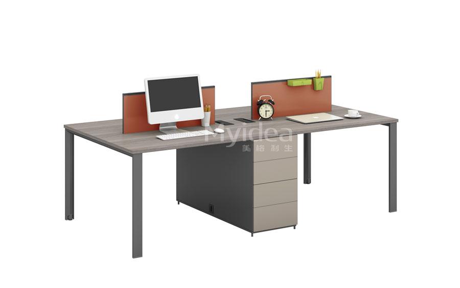 财务办公桌-职员工作位