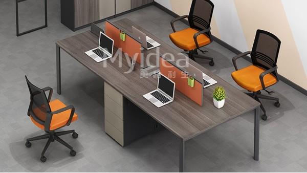 佛山定制办公桌收纳办公桌椅