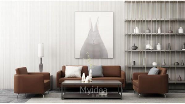 哪种办公沙发适合你的办公室(1)
