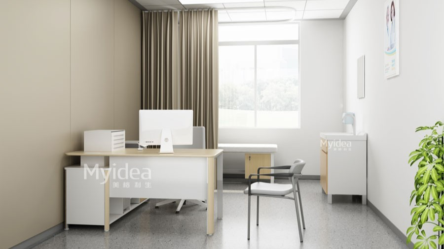 检查室医生诊桌诊椅