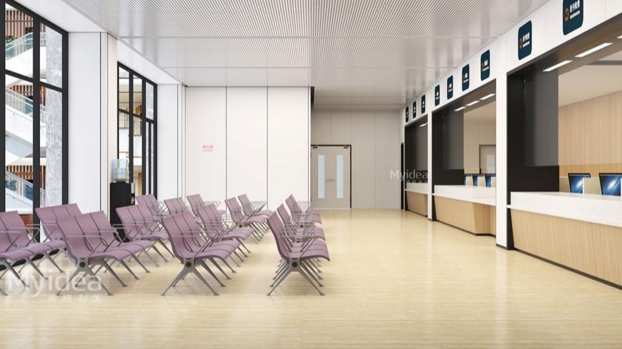 医院挂号缴费等候椅