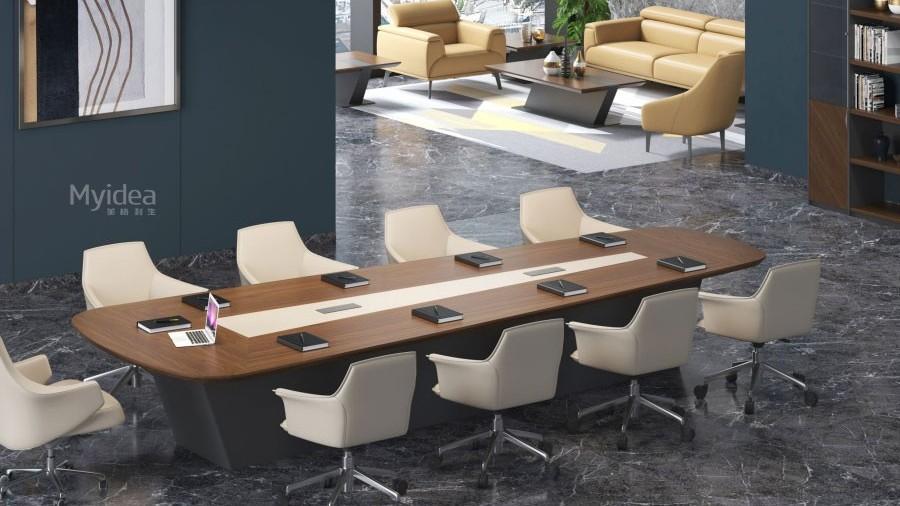 定制高端办公会议桌现代会议桌