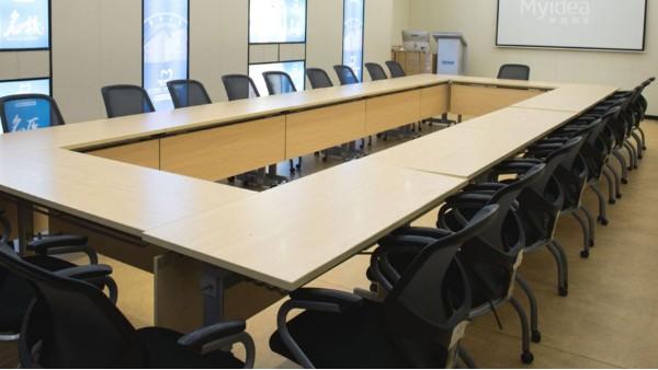 折叠培训桌-职员移动办公桌
