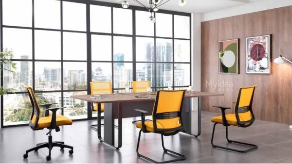 大型会议桌-商务培训桌椅组合