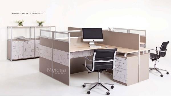 办公桌屏风工位-职员办公桌椅