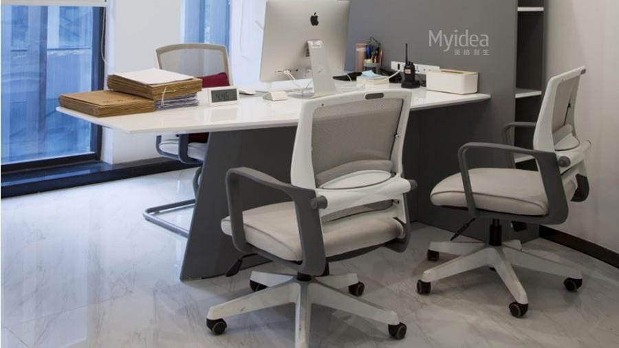 简约桌椅组合-办公会议桌椅