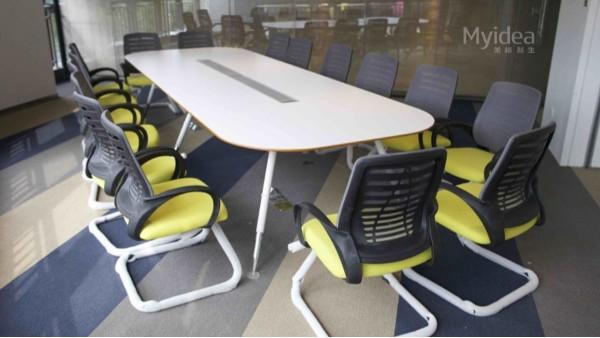 弓形椅会议椅-定制会议桌