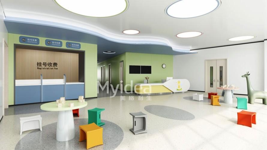 广东儿科医院专用接待室护士站家具