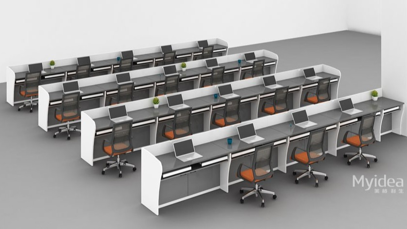 高级讲厅会议桌培训桌