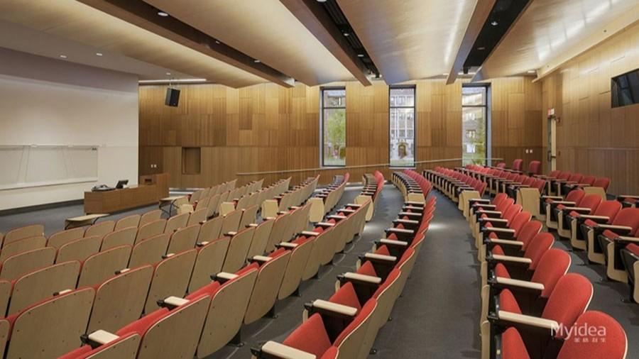 学校报告厅椅多媒体会议室排椅影剧院椅