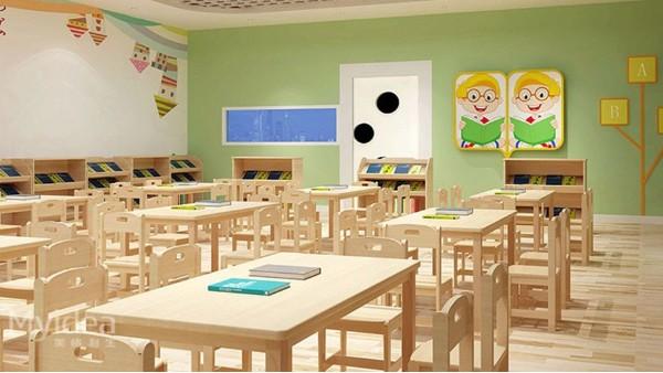 幼儿园辅导班早教培训桌椅