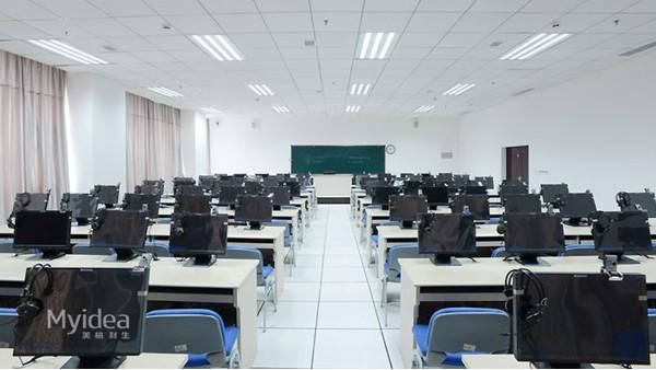 教育培训桌微机室课桌椅厂家