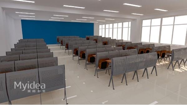 学校辅导班课桌椅定制