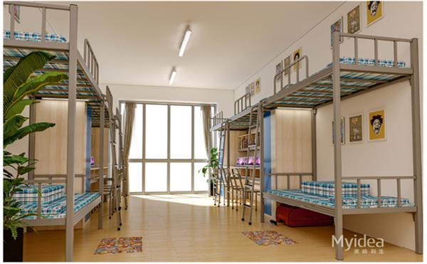 学生宿舍双人床