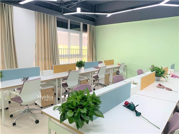 创意组合职员桌