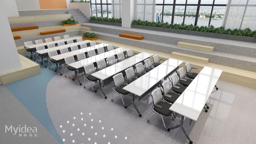 现代课桌演讲桌培训桌