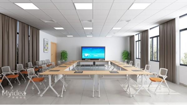 简易组合学生课桌员工会议桌