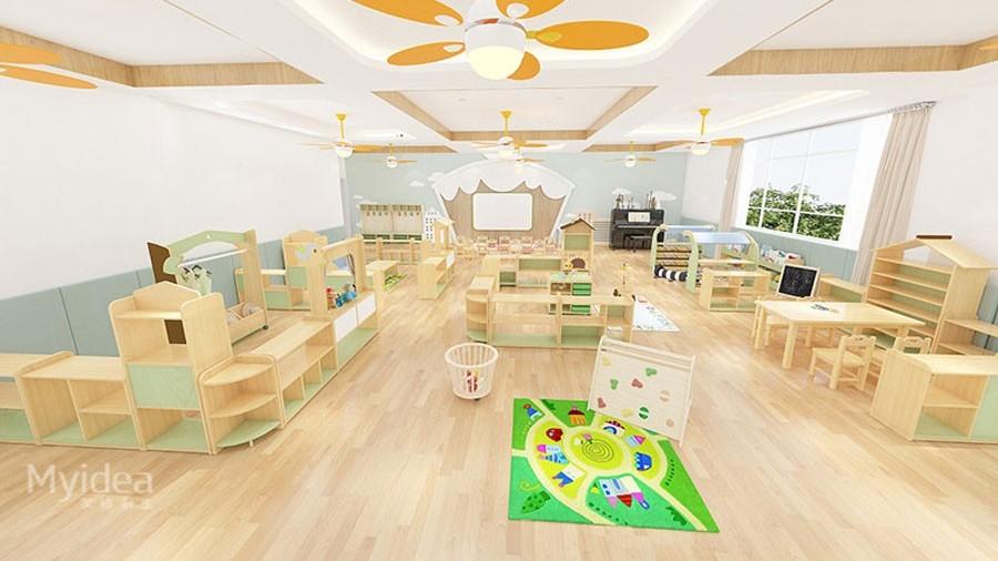 幼儿园早教辅导班培训桌椅