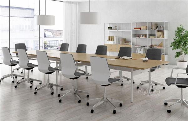 会议桌简约工作台办公长桌