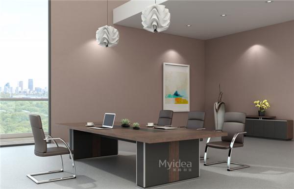 办公会议桌现代大型会议室桌椅洽谈桌