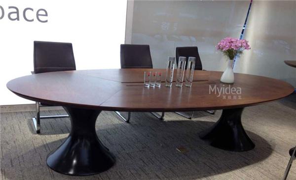 烤漆会议桌-简约现代大洽谈桌