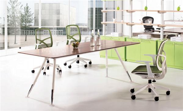 会议桌长桌-简约现代培训洽谈桌椅组合