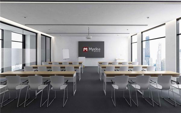 简约可移动培训桌-会议桌组合办公桌