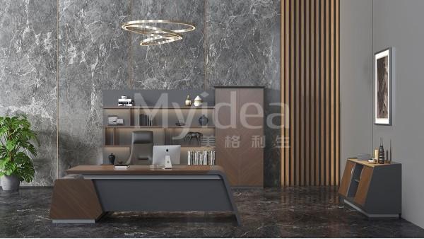 新中式总裁办公家具