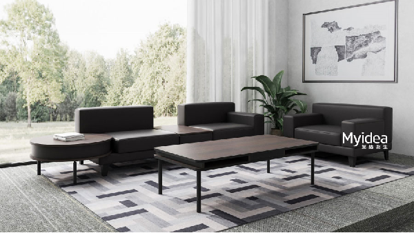 休息沙发茶几组合配套办公家具