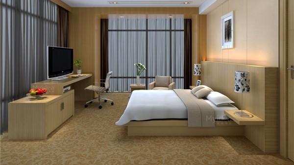 酒店公寓床